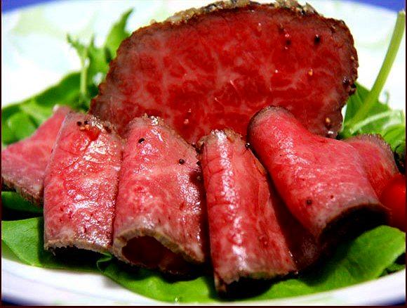 流氷牛ローストビーフ(約500g)