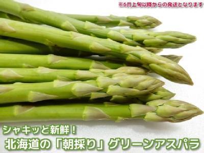 朝採りグリーンアスパラ(約2kg・産直送料込)