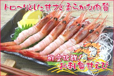 お刺身甘えび(500g)