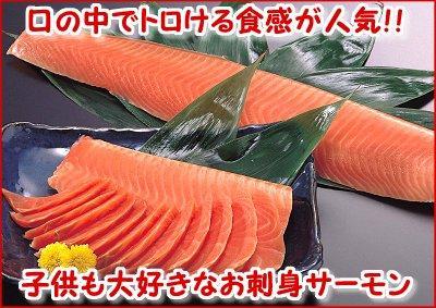 お刺身サーモン(1本・300~350g)