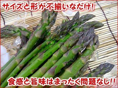 【産直】訳ありグリーンアスパラ<br>約900g
