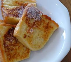 よつ葉バターのフレンチトースト