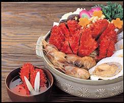 花咲ガニの味噌鍋