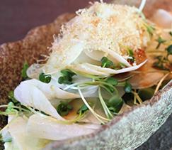 ホタテ干し貝柱の大根サラダ