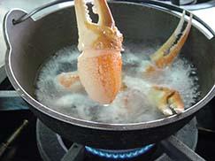 ズワイガニの美味しい解凍法