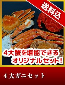4大ガニセット