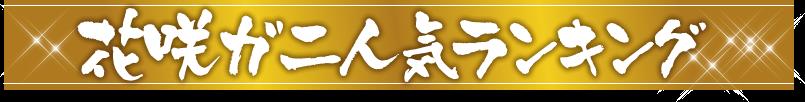 花咲ガニ人気ランキング